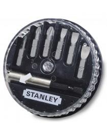 Набор бит Stanley + универсальный держатель (7 шт) 1-68-738 фото