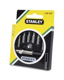 Набор бит Stanley + универсальный держатель (7 шт) 1-68-739 фото
