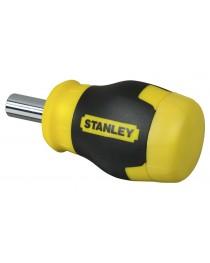Отвертка компактная Stanley Multibit Stubby 0-66-357 / В комплекте 6 насадок