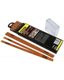Набор пильных полотен для ножовки по металлу Stanley Rubis, молибденовое, жесткое 300мм, 24з/д (1шт) фото
