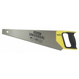 Ножовка универсальная с закаленными зубьями Stanley 1-20-002 / Длина полотна 380 мм