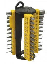 Отвертка многофункциональная c набором насадок Stanley Multibit STHT0-70885 / В комплекте 32 насадки