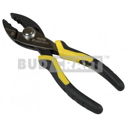 Пассатижи Stanley Fatmax Slip Joint Pushlosk 150мм (переставные, сантехнические)