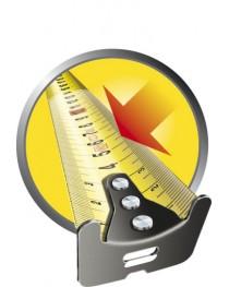 Рулетка магнитная 5 метров Stanley FatMax® XTREME™ 0-33-887 / Ширина полотна 32 мм фото