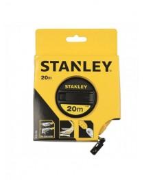 Рулетка 20 метров с лентой из стекловолокна Stanley LongTape 0-34-296 / Ширина ленты 12,7 мм фото