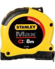Рулетка магнитная 8 метров Stanley Max 0-33-959 / Ширина полотна 28 мм фото
