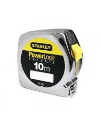 Рулетка 10 метров Stanley Powerlock 0-33-442 / Ширина ленты 25 мм фото