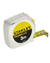 Рулетка 3 метра Stanley Powerlock 0-33-041 / Ширина ленты 19 мм фото