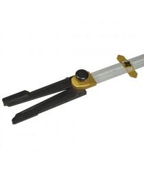 Угольник Т-образный (складной) для раскроя гипсокартонных плит Stanley STHT1-05933 / 710 х 520 мм фото
