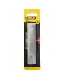 Набор лезвий для ножа Stanley 18мм (10шт) фото