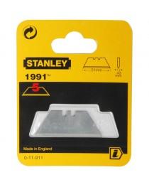 Набор лезвий для ножа Stanley 1991, 50х19х0, 45мм для отделочных работ (5шт) фото