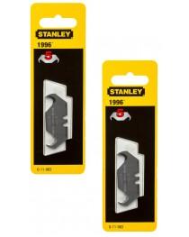 Набор лезвий для ножа Stanley 1996, 50х19х0, 65мм для отделочных работ (5шт) фото