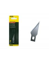 Набор лезвий для ножа Stanley 10-401, 10-402 45мм для поделочных работ (3шт) фото