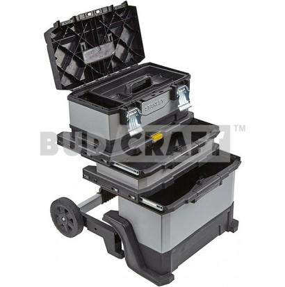 Тележка для инструментов на колесах Stanley Rolling Workshop FMST1-75506 / 570 x 390 x 890 мм