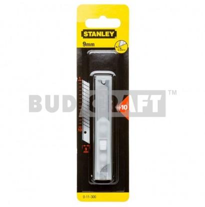 Набор лезвий для ножа Stanley 9мм (10шт)