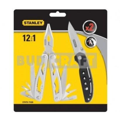 Плоскогубцы Stanley Multitool 12 в 1 + нож