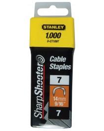 Скоба Stanley Cable (тип 7, 14мм, 1000шт) фото
