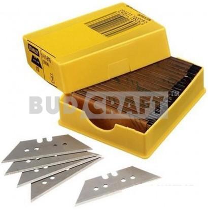 Набор лезвий для ножа Stanley 1992, 19х62х0,65мм для отделочных работ, трапециевидные (100шт)