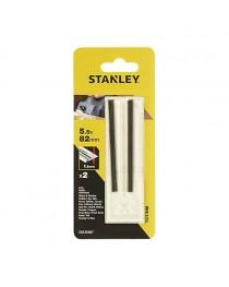 Набор ножей для рубанка Stanley 5.5 x 82 мм, 2 шт (STA35007) фото