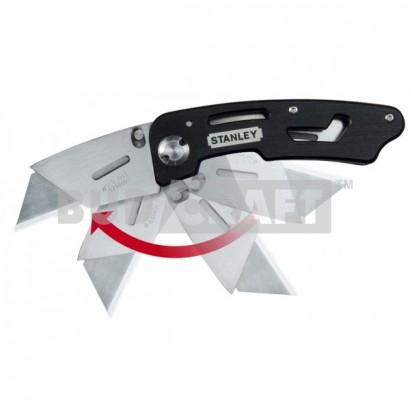 Нож складной с фиксированным лезвием Stanley Utility / 160 мм / 19 мм фото