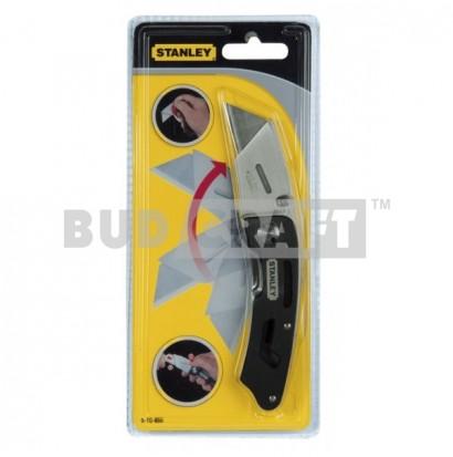 Нож складной с фиксированным лезвием Stanley Utility / 160 мм / 19 мм